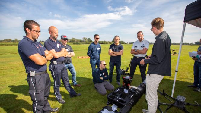 """Politiezones uit hele land naar 'Police Drone Day' in Hasselt: """"Technologie wordt steeds belangrijker in politiewerking"""""""