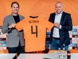 De Boer: 'Ik ben trots en voel me vereerd om bondscoach te zijn'
