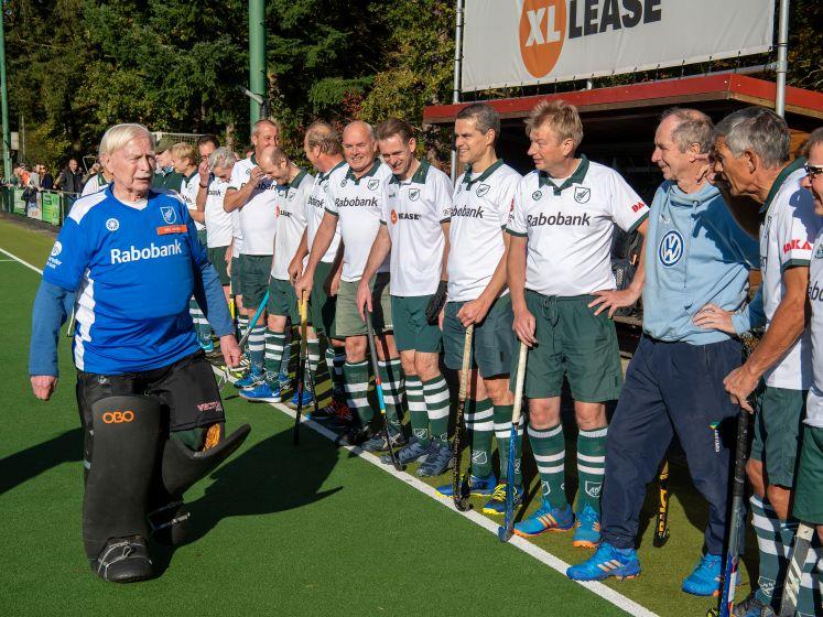 Oudste hockeykeeper (87) van Nederland stopt: 'Oranje kan nog aankloppen'
