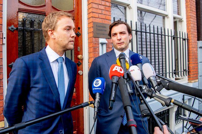 Lennart van der Linden vertrekt uit het Forum-bestuur, Thierry Baudet is de nieuwe leider.