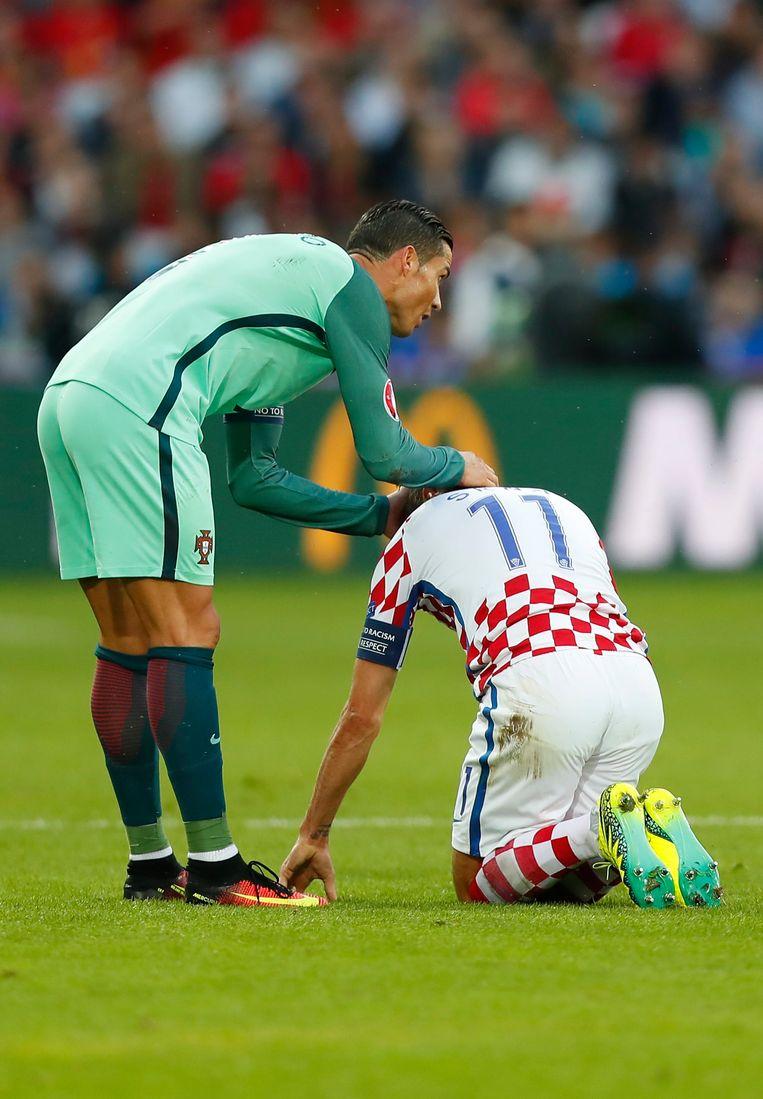 Ronaldo excuseert zich na een toch wel smerige fout bij Srna Beeld EPA