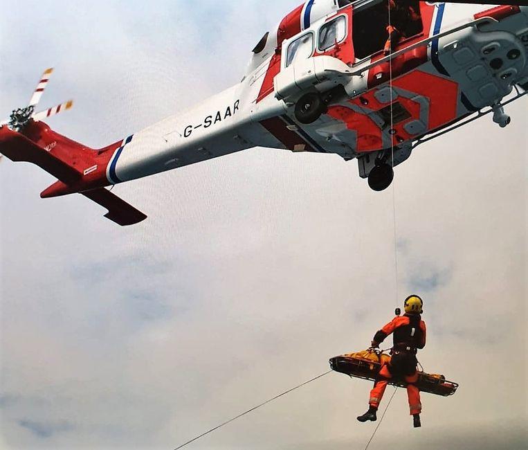De hele reddingsoperatie was volgens Aimé heel indrukwekkend.