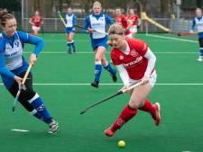 Ferme eindsprint hockeysters Wageningen