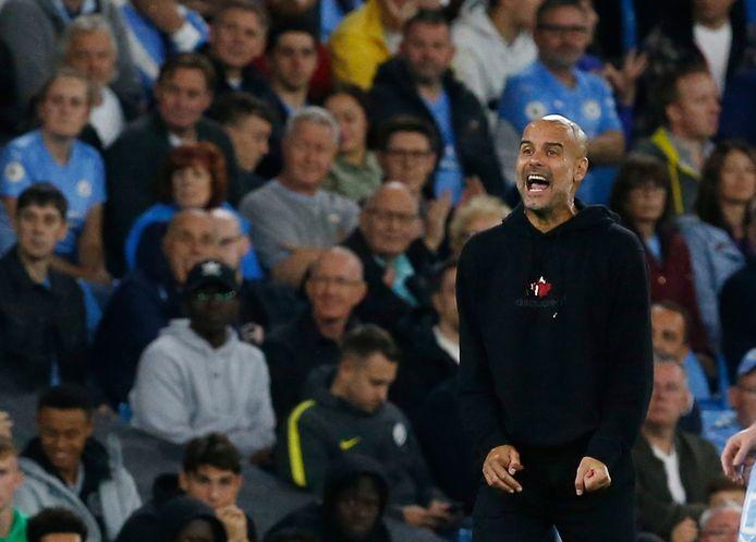 Manchester City-coach Pep Guardiola