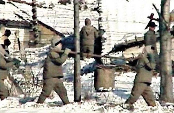 Een zeldzaam beeld van een concentratiekamp in Noord-Korea