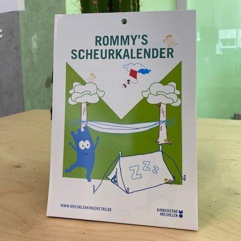 Rommy's Scheurkalender van Stad mechelen