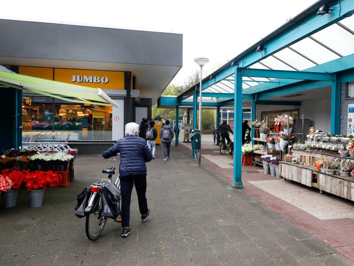 Winkelcentrum Malvert. Archieffoto
