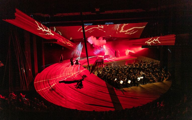 Die Walküre bij De Nationale Opera. Beeld DNO 2019