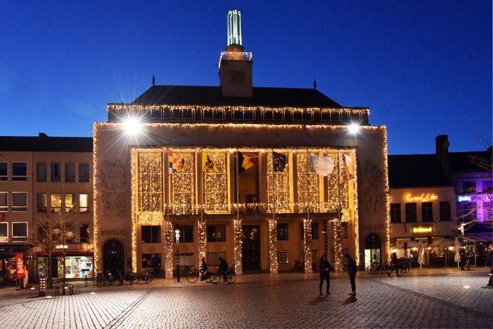 kerstverlichting Stadhuis Turnhout