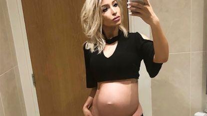 Na bevalling eet vriendin Logan Bailly smoothie mét haar placenta