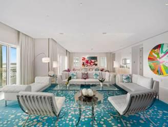 Kleur in het interieur: penthouse van 5,83 miljoen euro haalt inspiratie uit de omliggende natuur