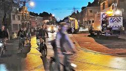 Eandis hindert fietsers op Heuleplaats