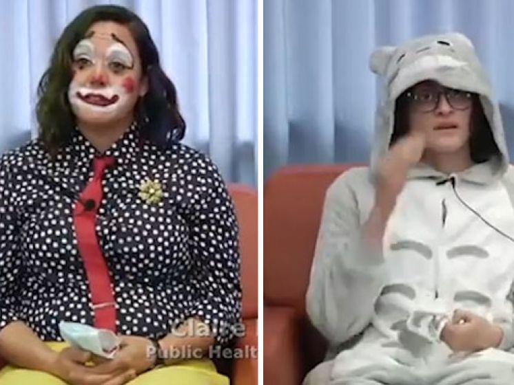 Polémique aux États-Unis: une responsable sanitaire annonce des morts déguisée en clown
