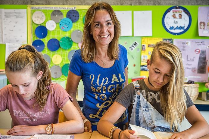 Agathe Vermeulen van christelijke basisschool De Hoeksteen in Wemeldinge.