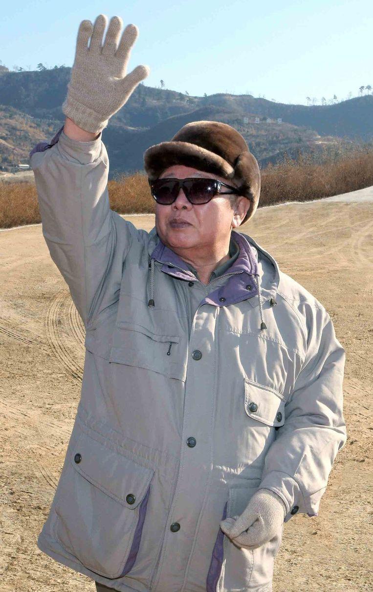 Kim Jong-Il in november 2010. Beeld epa