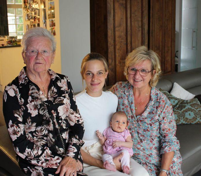 Viergeslacht familie Sofie De Dobbeleer.
