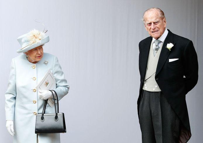 La reine Elizabeth II et son mari le prince Philip.