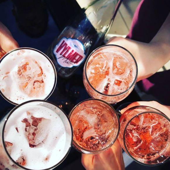 Cocktails shaken met Annelies Lefere.
