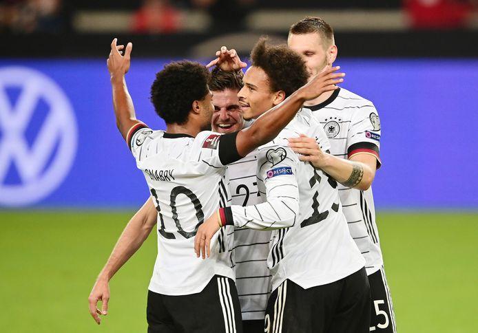 Duitsland won met 6-0 van Armenië.