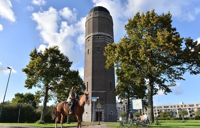 De watertoren zoals hij nu nog is.