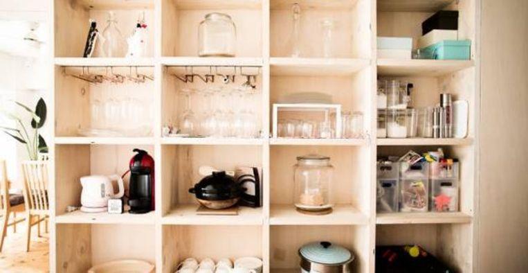 De handigste opbergtips voor mensen met een klein huis Beeld Getty Images