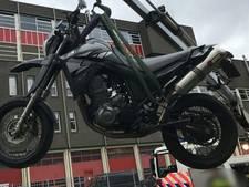 Motorrijder aangehouden in Noord na inzet politiehelikopter