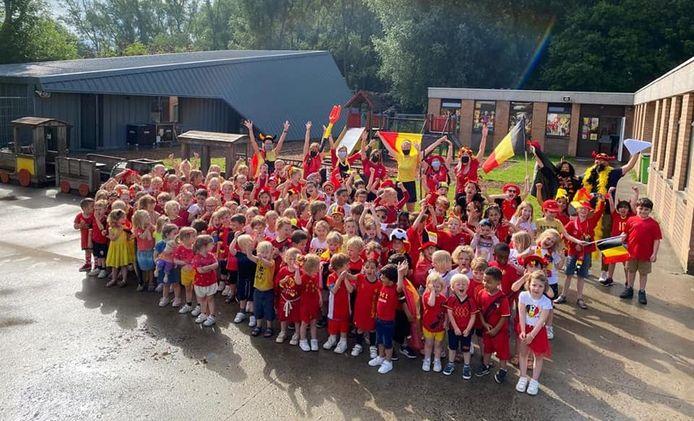 Sint-Amandscollege Zuid, afdeling Wielewaal, in Kortrijk