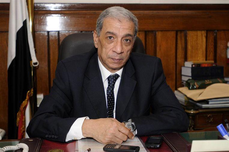 De Egyptische hoofdaanklager Hisham Barakat, die maandag bij een aanslag is omgekomen. Beeld EPA