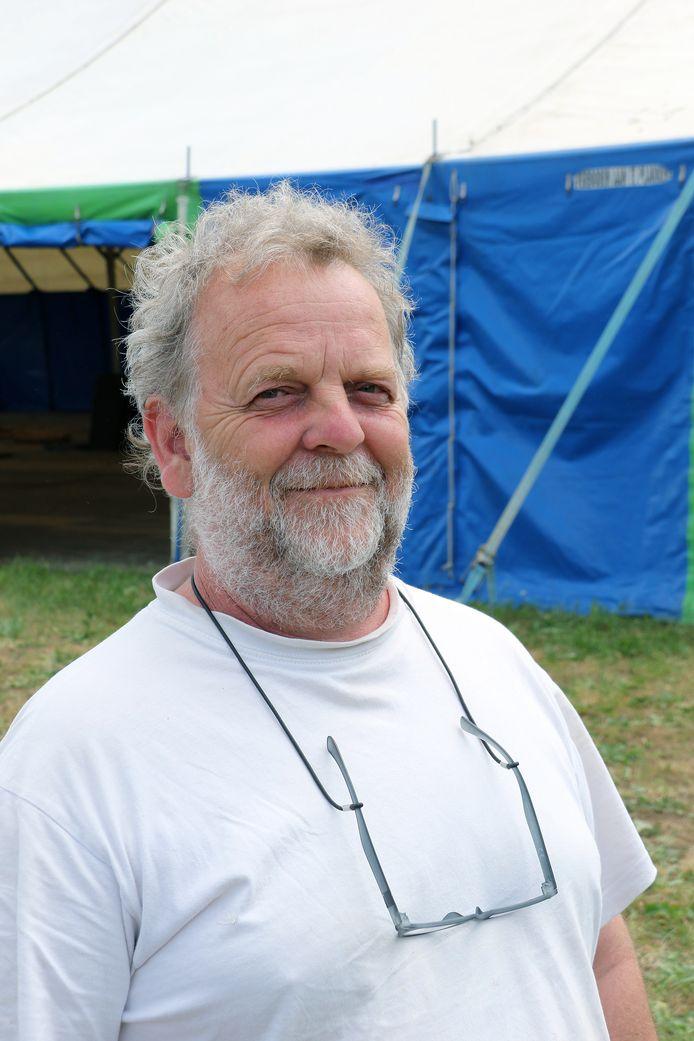 Organisator van Na Fir Bolg Luc Janssens.
