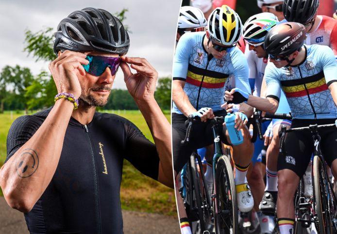 Boonen, Van Aert en Evenepoel.