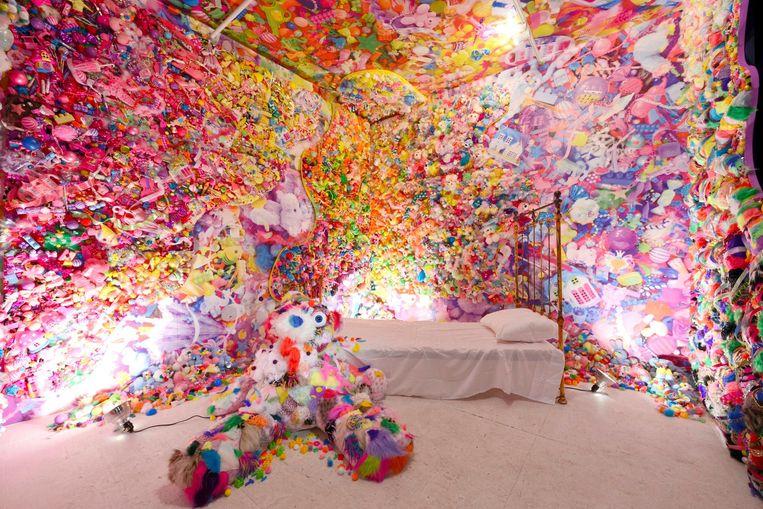 De hysterische kunst van Sebastian Masuda Beeld Gion