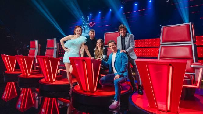 Van tien naar zeven in tweede liveshow 'The Voice'
