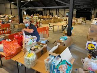 In tegenstelling tot berichtgeving Rode Kruis zijn noodgoederen zeer welkom: ook vanavond nog inzameling in Hangaar 44