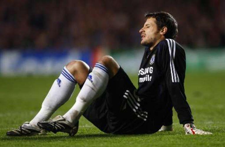 Chelsea verloor -na eerder Cech- nu ook tweede doelman Cudicini. Hilario verving perfect. Beeld UNKNOWN