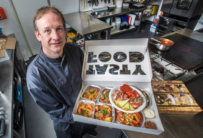 Chef-kok Rob Toet.