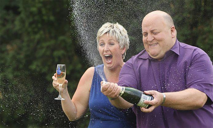 Gillian Bayford, aux côtés de son ex-mari.