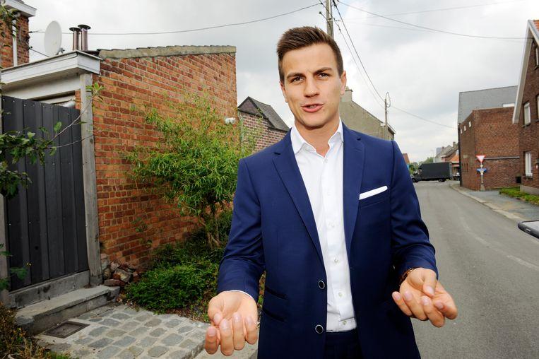 Dries Van Langenhove is oprichter van jongerenbeweging Schild & Vriend. Beeld Photo News