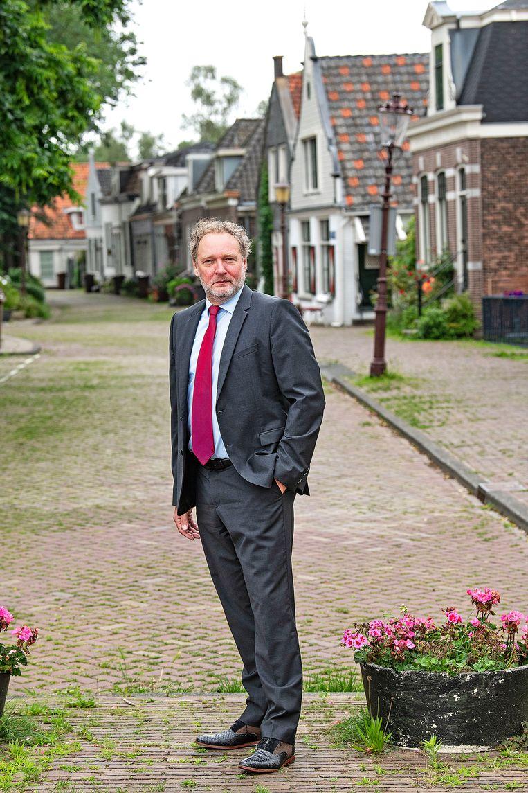 Diemer Kransen: 'De meeste bedrijven die denken dat ze niet zijn gehackt, zijn allang gehackt. Er is een enorme naïviteit.' Beeld Guus Dubbelman / de Volkskrant