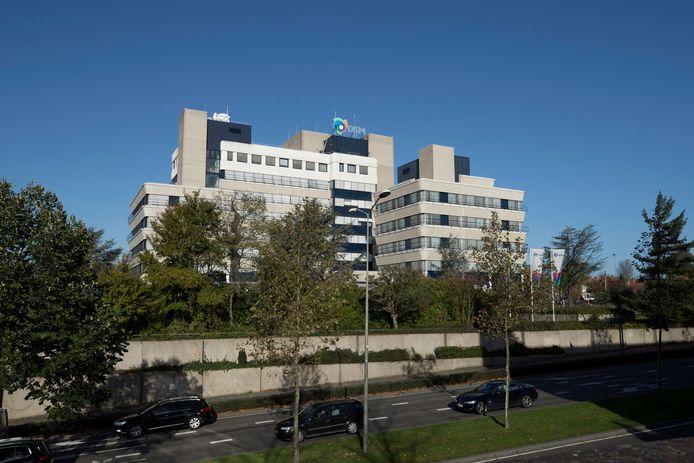 Exterieur van het hoofdkantoor van chemieconcern DSM.