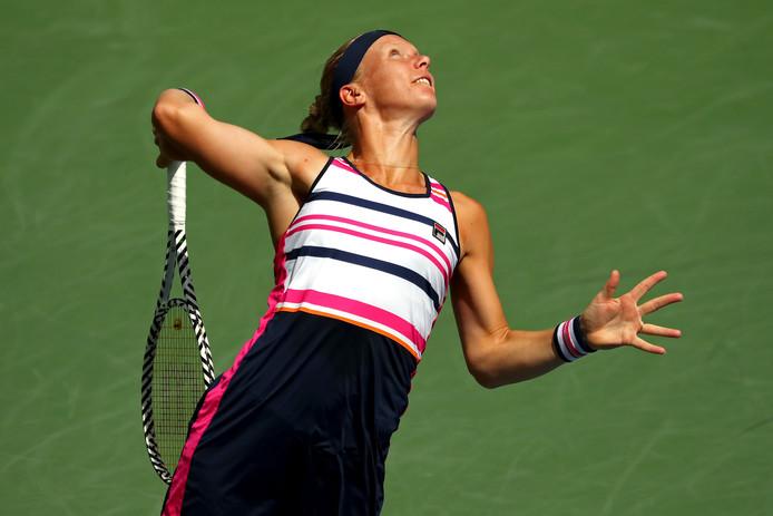 Kiki Bertens op de US Open.