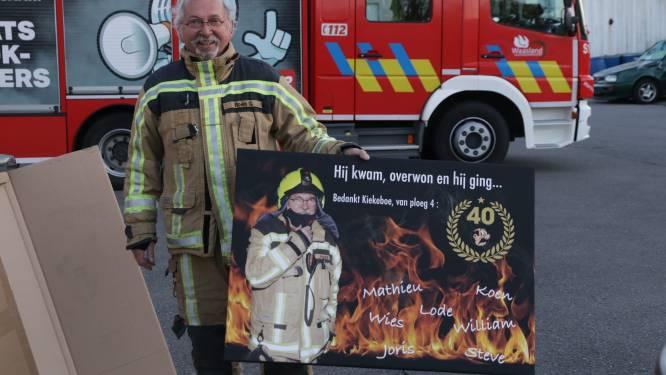 Brandweersergeant Guido 'Kiekeboe' Roels moet op laatste interventie eigen gezin uit lift 'bevrijden'