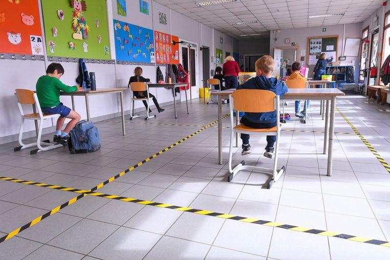 Beeld ter illustratie uit een school in Waver. Beeld Photo News