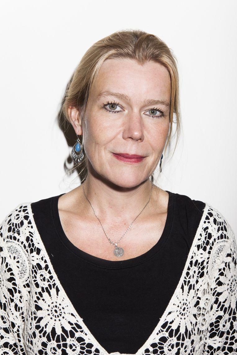 Schrijfster Désanne van Brederode: 'Vreemdgaan is iets tussen drie mensen.' Beeld Valentina Vos