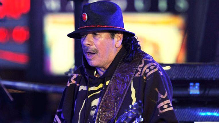 Carlos Santana Beeld FOTO EPA