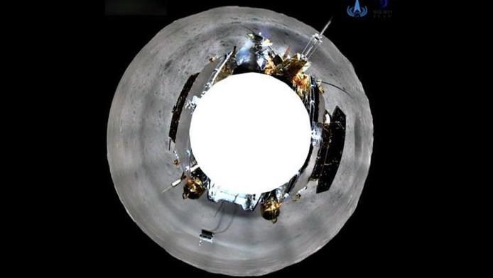 Des chercheurs chinois ont publié des images uniques à 360 degrés de la surface lunaire.