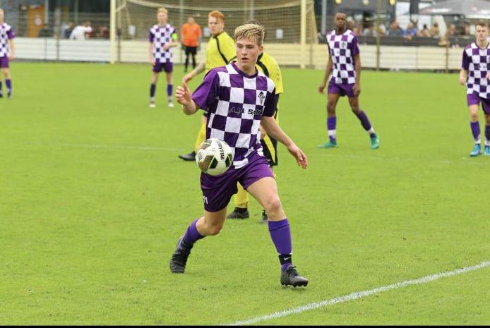 Jeroen Ooms scoorde een hattrick namens TVC Breda bij SSW. (archieffoto)