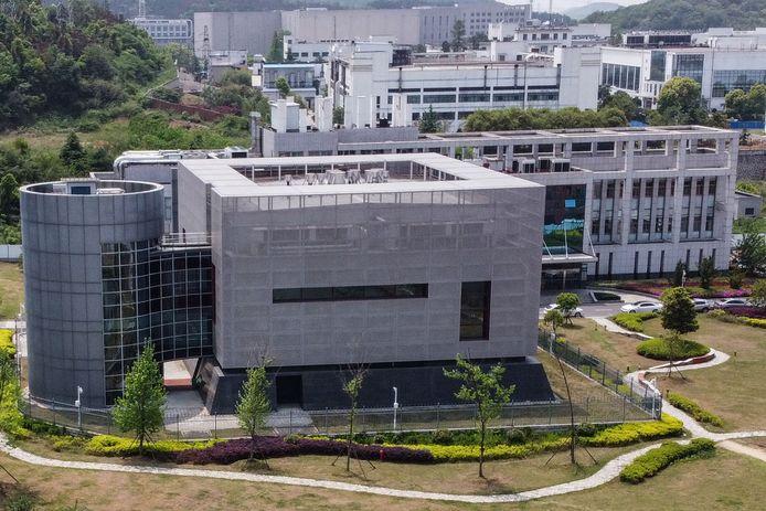 Het P4-laboratorium in het Institute of Virology in Wuhan.