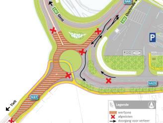 Vanaf vrijdag nieuwe fase werken afrittencomplex E40 in Aalter: Tieltsesteenweg (N37) volledig onderbroken, op- en afrit richting Gent deels dicht