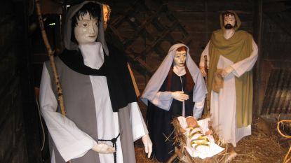 Kindje Jezus verdwenen uit kerststal in Wechelderzande