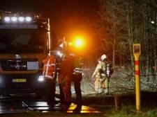 Reparatie naftaleiding in Haaren gaat nog tot donderdagmiddag duren